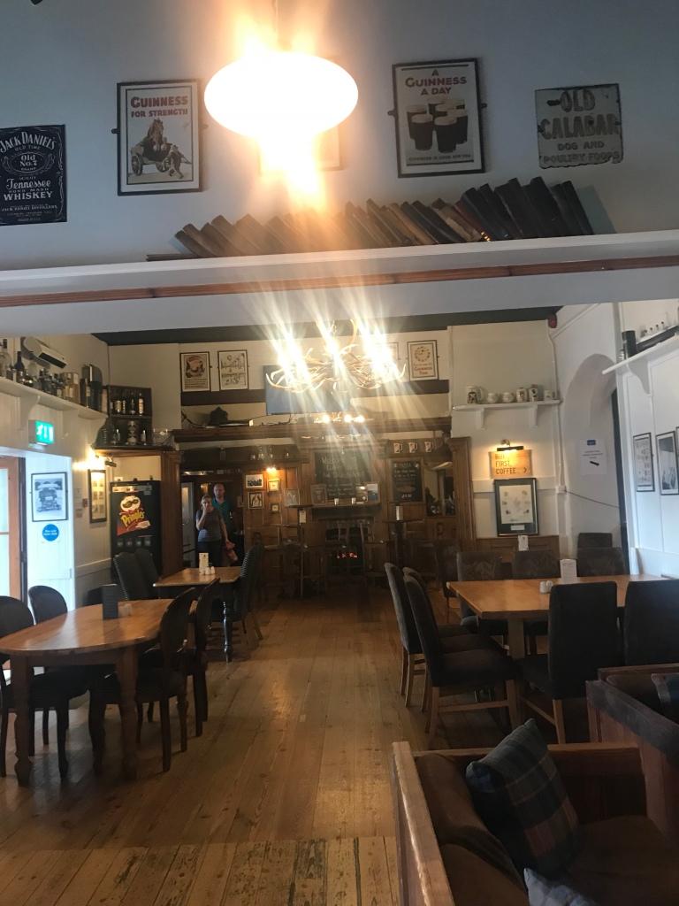 The Bar at Lusty Beg Island