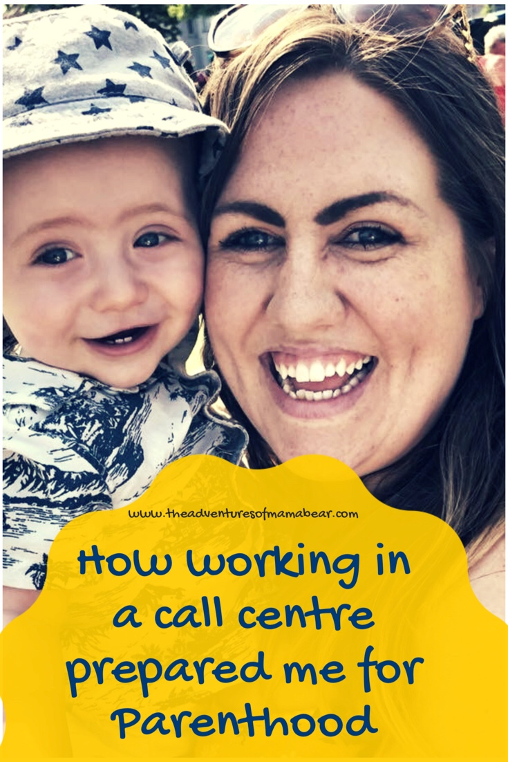 Pinterest, how working in a call Centre prepared me for parenthood