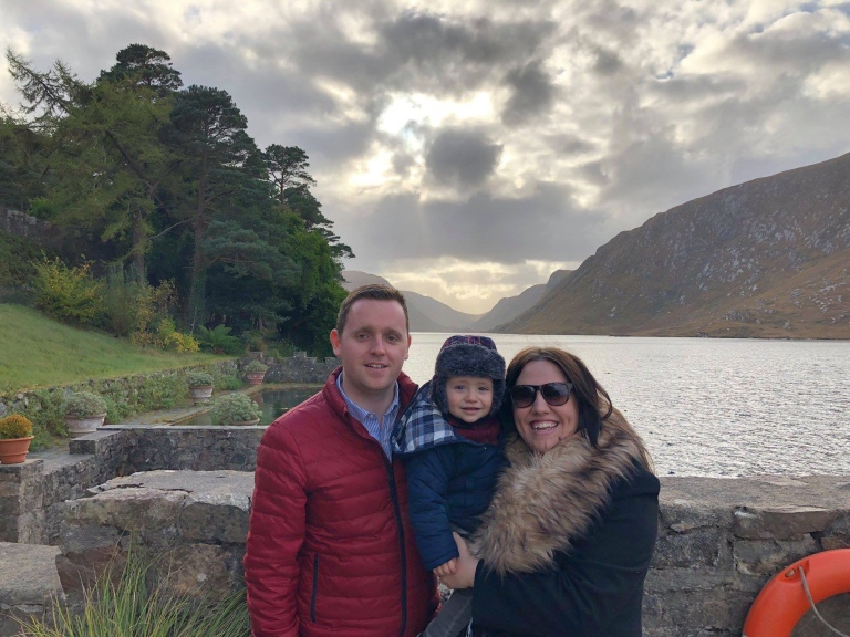 My Boys and I at Glenveagh National Park
