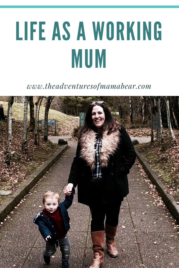 Pinterest Image, Life as a Working Mum
